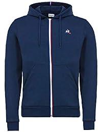 Le Coq Sportif Ess Fz Hoody M Dress Blues, Chaqueta deportiva