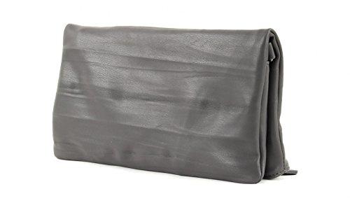 Fritzi aus Preußen Damen Ronja Clas Clutch, 2x30x30 cm Fango (Grau)