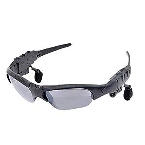 iplusmile Kabellose Headsets Sonnenbrillen Musikaugen Brillen Headsets Musik Hören Freisprecheinrichtung Musik Stereo für Sport Laufen Radfahren