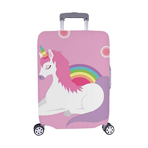 Unicornio Queen Sleep Rose Kid Decor Patrón Spandex