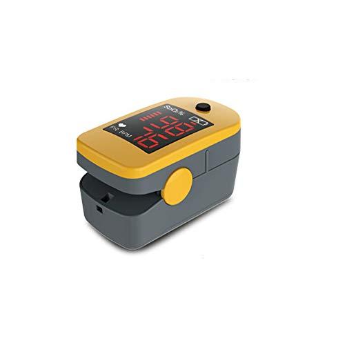 CHENG Finger-Pulsoximeter mit Herzfrequenzsensor Automatische Abschalt-Oximeter Finger für Kinder und Erwachsene