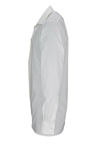 OLYMP Modern Fit Gala Hemd Langarm Popeline o. Manschettenknopf beige 82 beige
