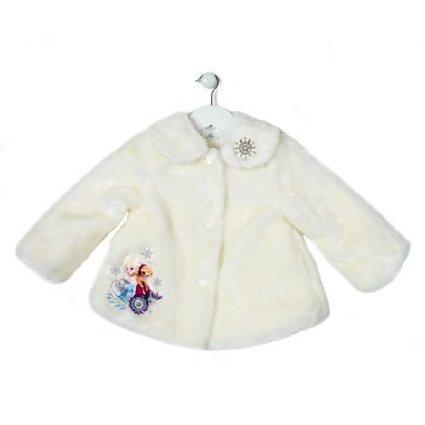 Manteau la Reine des Neiges pour enfants (5-6 ans)