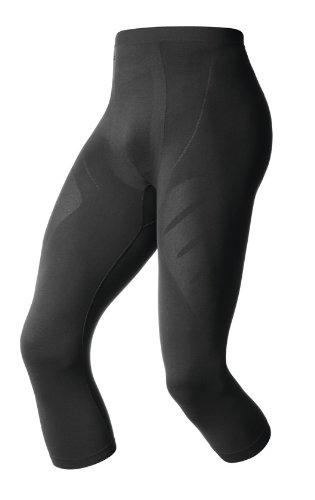 Odlo Herren Pants 3/4 Evolution Light Unterhosen Lang He/Uni, Black, S