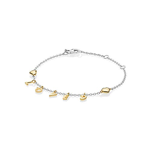 Pandora bracciale con charm donna argento - 567804-20