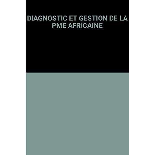 DIAGNOSTIC ET GESTION DE LA PME AFRICAINE