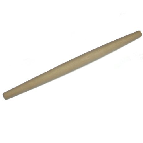 Rolling Pin Tapered Wood, 7/8Dia. x 20-11/16 L. by Stanton Tapered Rolling Pin