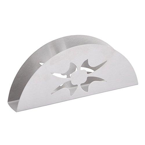 sourcingmap® Haushalt Restaurant Hotel Metall Gewebe Serviette Halter Behälter (Metall Halter Flache Serviette)