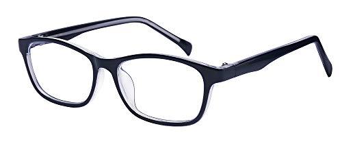 ALWAYSUV Kinderbrillen Klassische Klare Linse Brille Farbige Brillenfassung Brillengestell für Jungen Und Mädchen