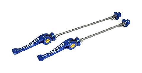 A2Z Unisex TI Mtb Qr Skewers Quick Release Set, Blue