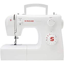 1 de Singer 2250 Tradition - Máquina de coser mecánica, 10 puntadas, 43 x 22 x 35,2 cm, color blanco