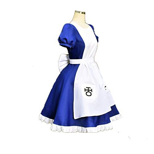 Lilongjiao Kostüm für Alice-Wahnsinn gibt Alice Cosplay zurück (Size : S) (Alice Madness Returns Kostüme)