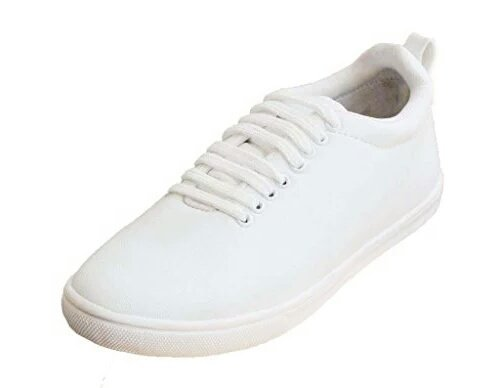 Gubatti Men's White Stylo Casual Shoes