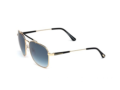 Tom-Ford-Edward-Square-Aviator-Sunglasses-in-Shiny-Rose-Gold-Green-Polarised-FT0377-28R-58