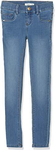 NAME IT NAME IT Mädchen Jeans NKFPOLLY DNMZASCHA 2133 Pant NOOS, Blau (Medium Blue Denim), (Herstellergröße:92)