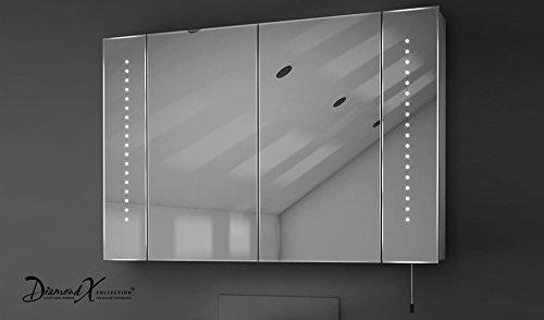 Spiegelschrank mit Batteriebetrieb – 90 cm - 5