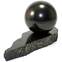 Schungit Kugel 35mm Durchmesser, geliefert im Gazesäckchen preisvergleich bei billige-tabletten.eu