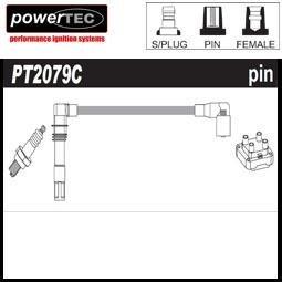 1x Powertec HT centres Laisse des Ensembles en cuivre Core Pt2079C