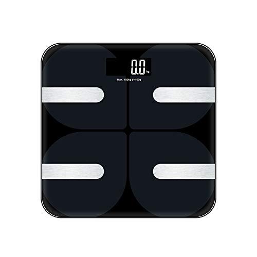 Weighing scales body Intelligente Personenwaage Warme Digitale Körperfettwaage Mit Elektronischer LCD-B-Bodenwaage Mit Mittlerem Gewicht