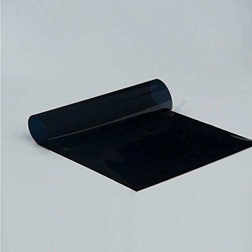 HOHO 1Schicht Klebstoff getöntes Solar Tint Auto Fenster Glas Fenster Film Anti UV -, VLT 5%, 50cmx500cm