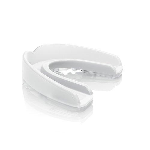 ShockDoctor Erwachsene Mundschutz Nano 3D, Trans Clear, L, 6590-TC-AD