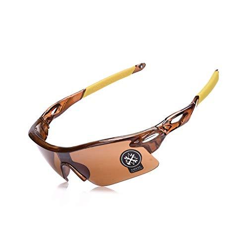 Sonnenbrille In Sehstärke Outdoor Mode Sport Bergsteigen Angeln Winddichte Brille Brown Damen Herren