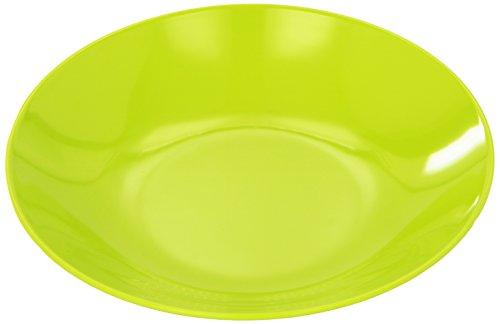 zak!designs 0204-7628 BBQ - Piatto fondo 21 cm, colore: Verde