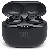 JBL T120TWSBLK True Wireless In-Ear Headphones, Black - (Pack of 1)