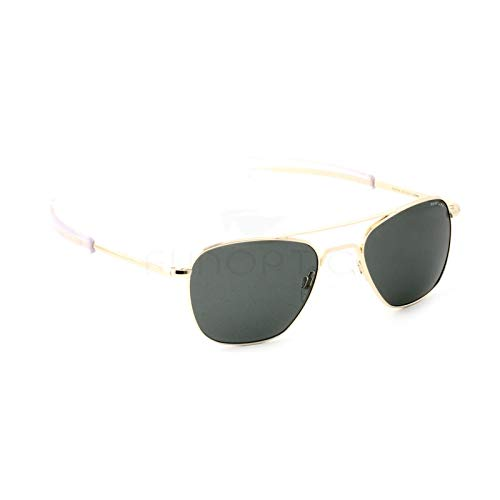 Randolph Sunglasses Aviator 23K Gold AGX 58 AF106 NEW