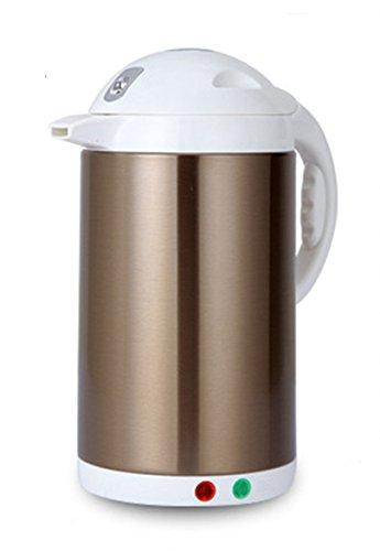LifeEasyTool Elektrische Wasserkocher Edelstahl Automatische Hitze-Bewahrung Wasserkessel und Abnehmbare Niedrige Temperatur-Steuer Teekessel Doppel Wärmeisolierung Kessel1.8L - Doppel-kessel Glas