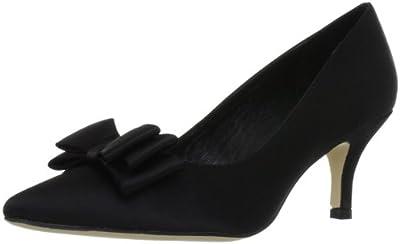 MENBUR Pechora 5031 - Zapatos clásicos de satén para mujer