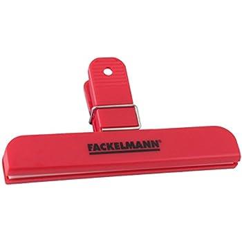 Fackelmann 59910 Clip de fermeture Plastique Rouge 15 cm