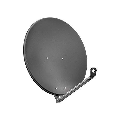 Goobay 67333 Antenne Parabolique en Aluminium, 80 cm