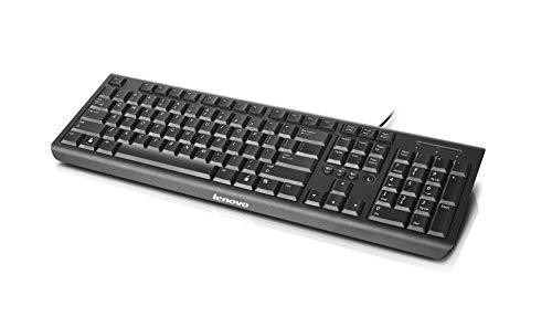 Lenovo USB Keyboard K4802, Black