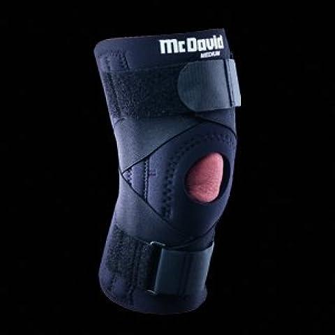 McDavid ligamento rodillera - corsé, MCL, LCL, su cartílago, menisco, alivio del dolor, mejora la estabilidad, ligamento dañado, ventilación, ninguna restricción, Metal Bisagra, correa de Velcro, compresión, retención del calor Talla:large