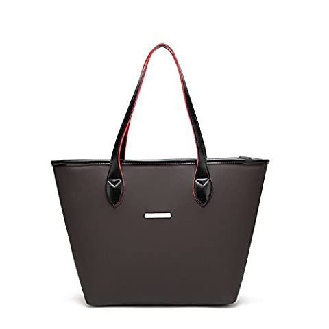 B-B Classical Retro Tote Bag Shoulder Handbag Big Large Capacity For Ladies