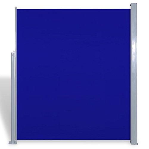 FZYHFA tendalino Lateral para Patio terraza 180x 300cm Azul Vela P