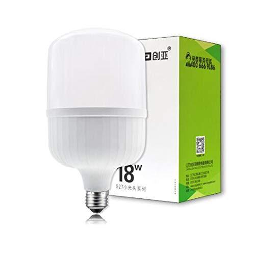 Licht Kronleuchter 5 100w Glühbirnen (LED Lampe Licht Innenbeleuchtung Energiesparlampe 6500K (kaltweiß) 5W - 50 * 100MM)