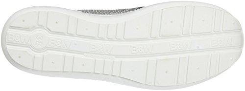 Break&Walk - Hv214325, Scarpe sportive Donna Argentato (Silver)
