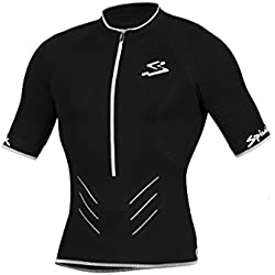 Spiuk Team Maillot, Hombre, Negro, M