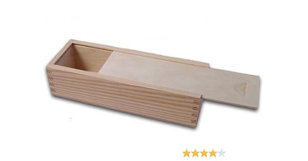 Holzbox, Aufbewahrungsbox, Holz-Schachtel, Linde unbehandelt: Amazon ...