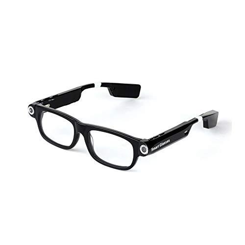 HM2 HD 1080P Mini Kamera Brille, drahtlose Bluetooth Smart Brille Mini Camcorder Brille Sport DV, mit Headset zu Anrufen/Musik,Noheadphones,32GB
