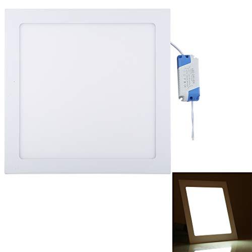 YZshell für 24W 12 Zoll quadratische Flächenleuchte mit LED-Treiber, 120 LED SMD 2835, Lichtstrom: 1848LM, AC 85-265V, Ausschnittgröße: 28,5 cm (Farbe : Color3) (12 Treiber Zoll)