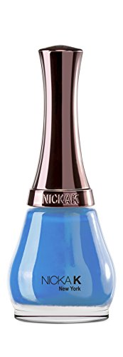 Nicka K New York Nail Color – Deep Blue, pack de 1 (1 x 1 pièce)