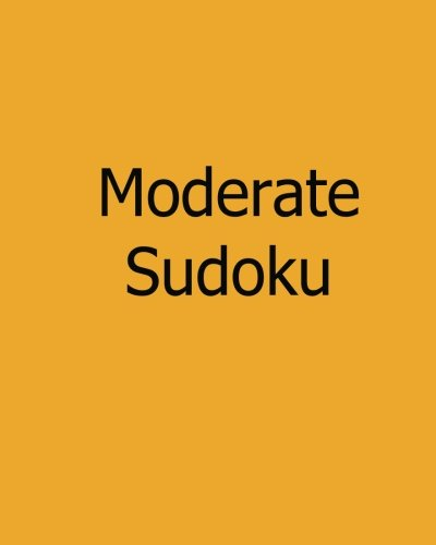Moderate Sudoku: Level 2: Large Grid Sudoku Puzzles