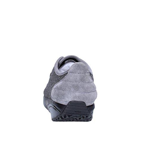 MBT Sneakers Donna 37 EU Camoscio Tessuto Grigio