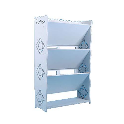 LXMT Kipp Schuhregal Badezimmer Multi-Layer-abnehmbare wasserdichte Schuh-Organisator-Turm Raum-Retter-Speicher-Regal Einfache Montage,A,M
