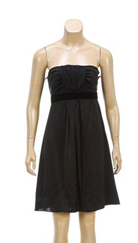 banana-republic-black-strapless-silk-dress-size-2p