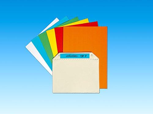 Perforierte Farbetiketten für Magnettaschen (100 x 22 mm) (10 Bögen á 18 Stück, Blau)