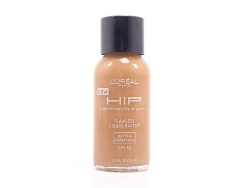 Loreal Hip Spf 15 Flawless Liquid Makeup for Women, Cappuccino